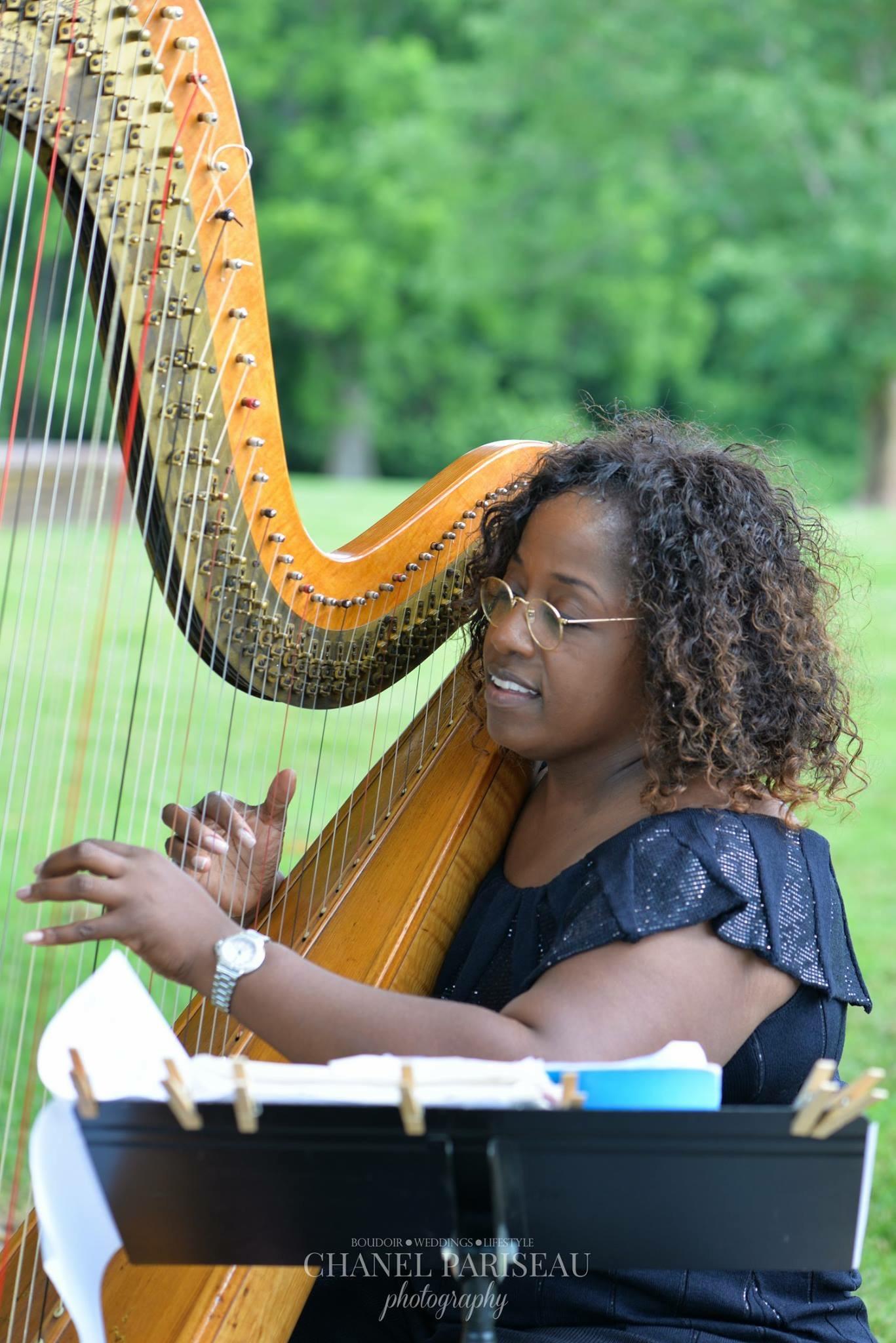 Verneeta Williams, Virginia Harpist